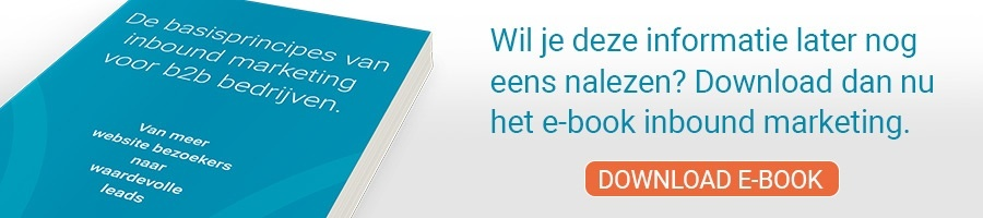 Nieuwe leads met inbound marketing, gratis e-book