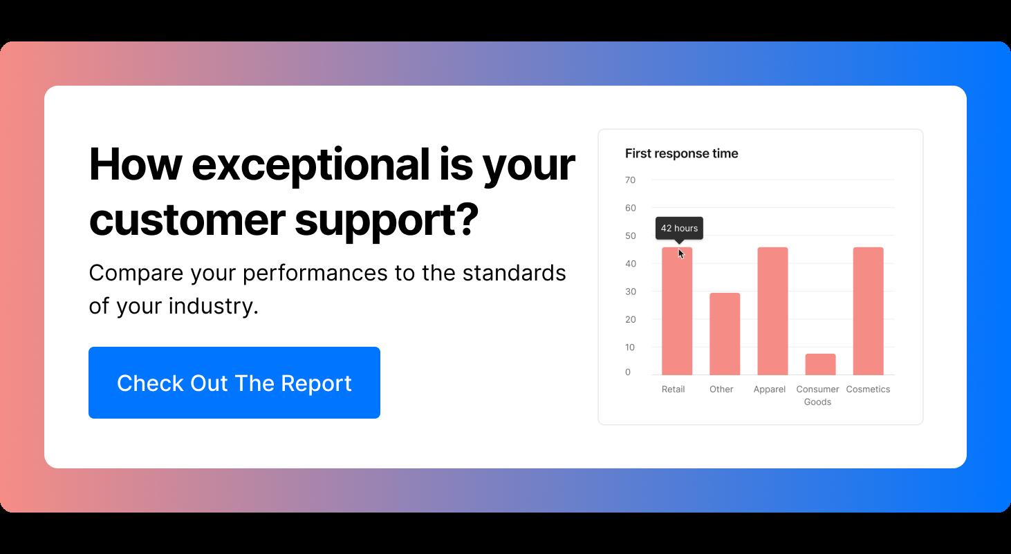 Customer Support - Benchmark Report