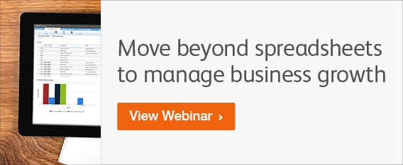 Moving Beyond Spreadsheets to Manage Business Growth