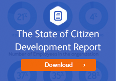 Download the State of Citizen Development Report