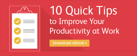 10 Productivity Tips for Work