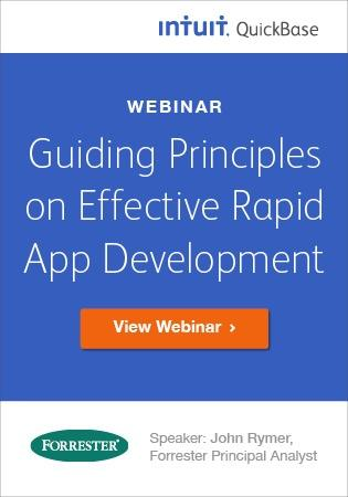 Effective Rapid App Dev - Forrester