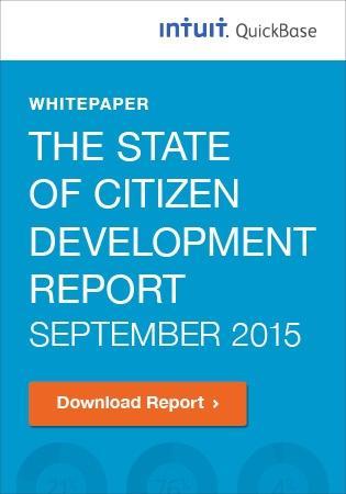2015 State of Citizen Development