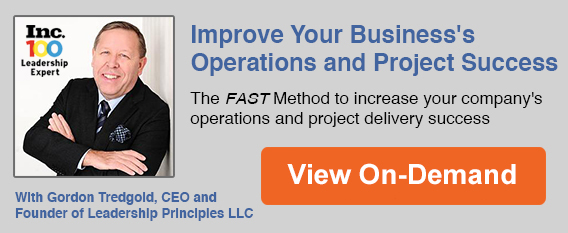 FAST Approach to Improving Operations