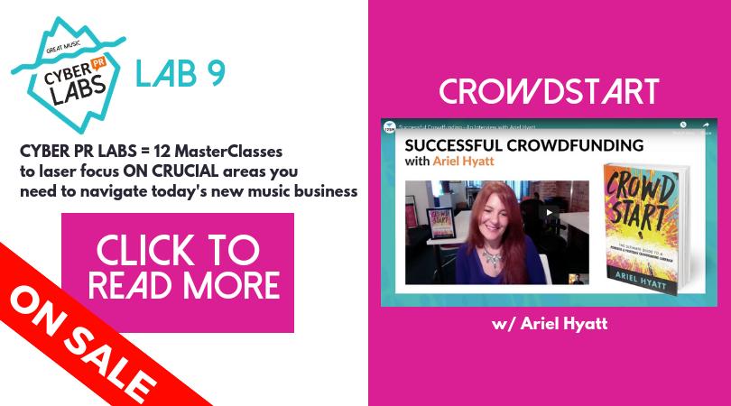 Cyber PR LAB 9 - Crowdstart