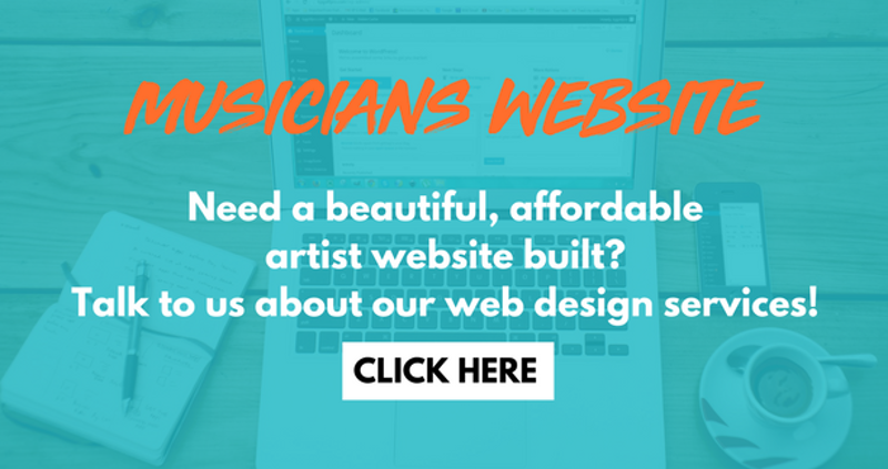 Musicians Website Work With Us