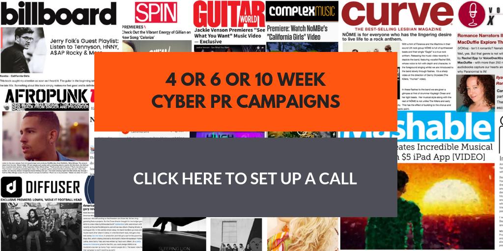 Cyber PR Campaigns