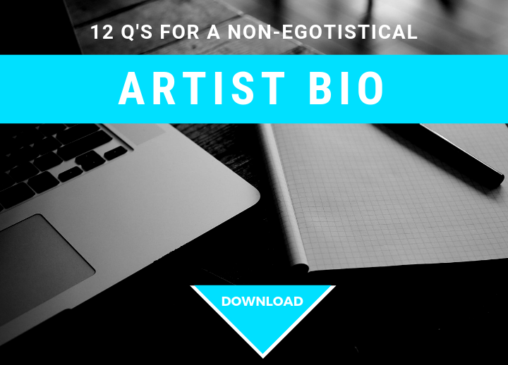 12 Questions For A Non-Egotistical Artist Bio