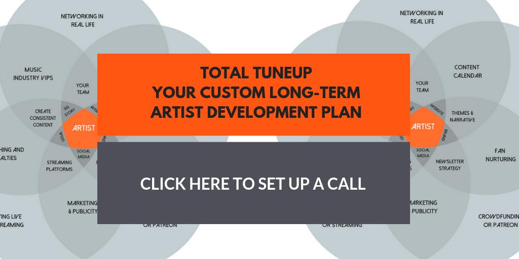 Artist Marketing Plan / Total Tuneup - Cyber PR Music