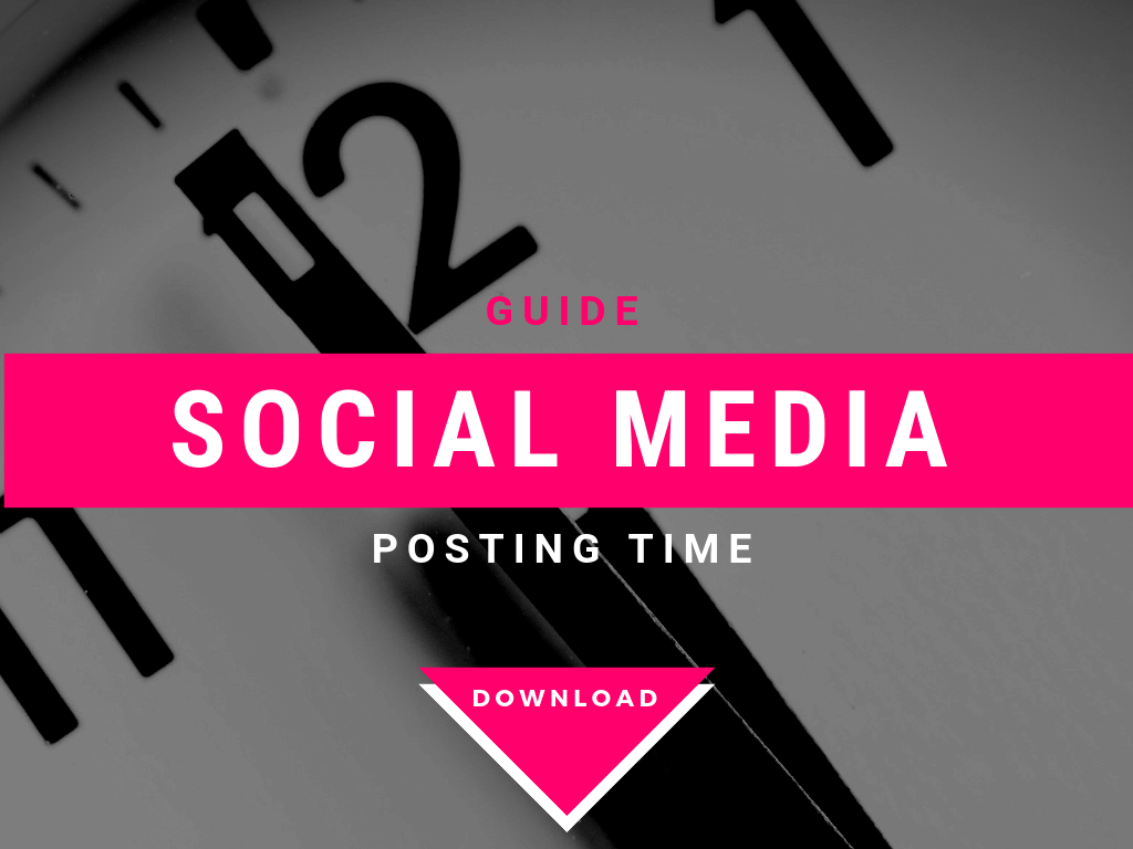 Social media posting time guide