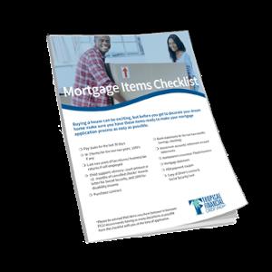 TFCU Mortgage Checklist