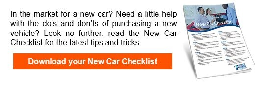 Click here for New Car Checklist