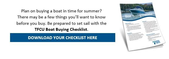 TFCU Boat Buying Checklist