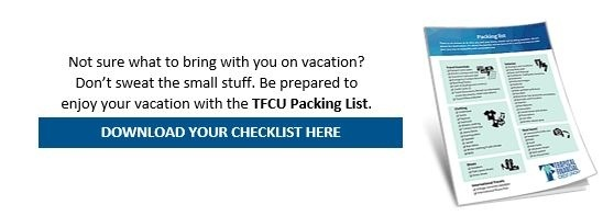 TFCU packing list guide