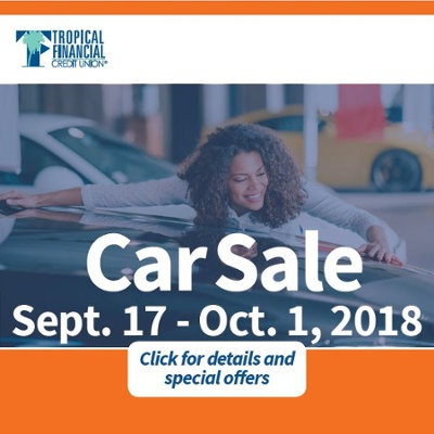 TFCU CAR SALE 2018