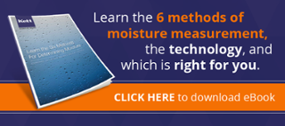 different methods for moisture measurement