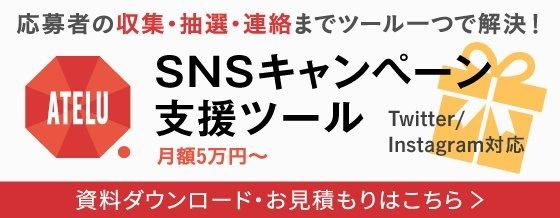 SNSキャンペーン支援ツール