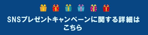 SNSプレゼントキャンペーンに関する詳細はこちら