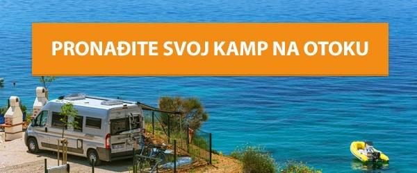 Pronađite svoj kamp na otoku!