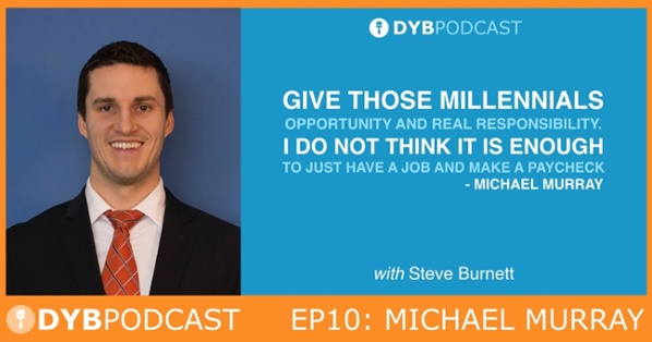 DYB Coach Podcast Interview of Michael Murray