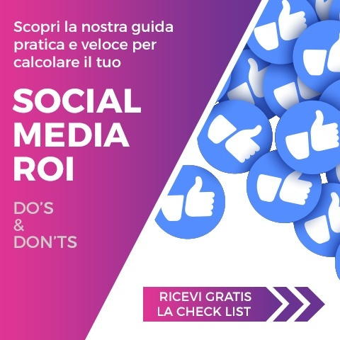 "Ricevi ora ""Checklist Social Media ROI Do's And Don'ts"""