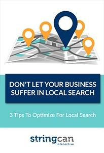 Don't Let Your Business Suffer In Local Search eBook