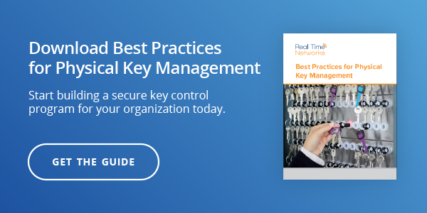 Best Practices for Physical Key Management