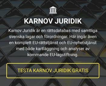 Testa Karnov Juridik gratis
