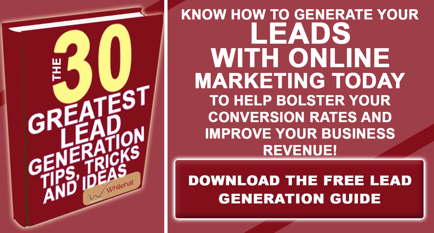 Download The Lead Generation Inbound Marketing eBook