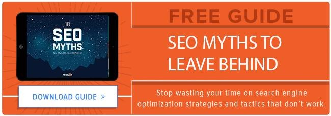 SEO Myths To Leave Behind In 2016 - Free Guide Download