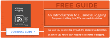 Free Guide To Business Blogging