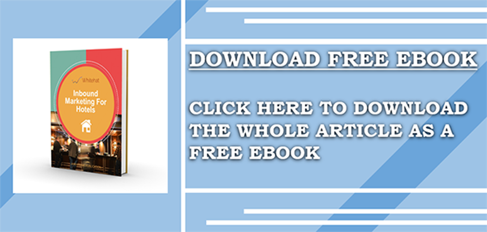 Download the free Inbound Marketing guide for Hotels