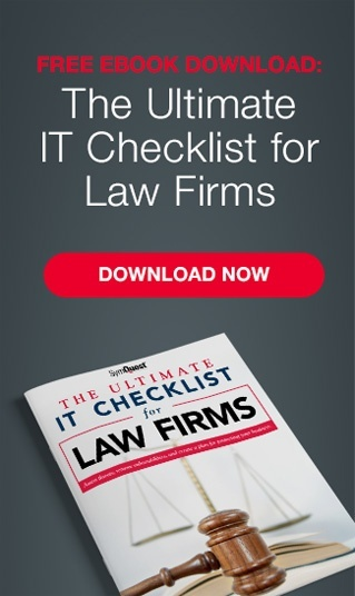 IT Checklist for Law Firms