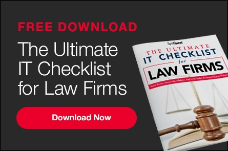 The Ultimate IT Checklist for Law Firms