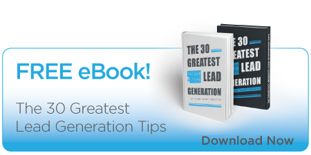 The 30 Greatest Lead Generation Tips – Free eBook from 3CC
