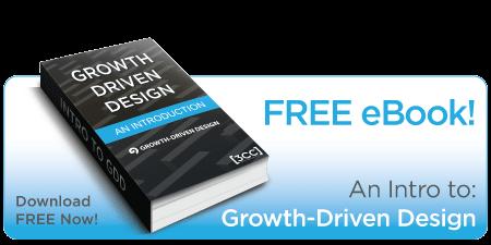 Growth Driven Design Free eBook