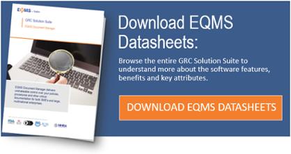 EQMS Datasheets