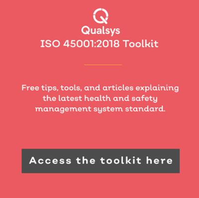 Transition to ISO 45001 Toolkit
