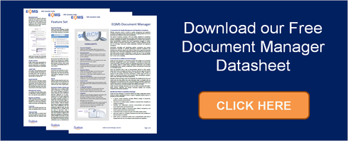 Download EQMS Document Manager Datasheet