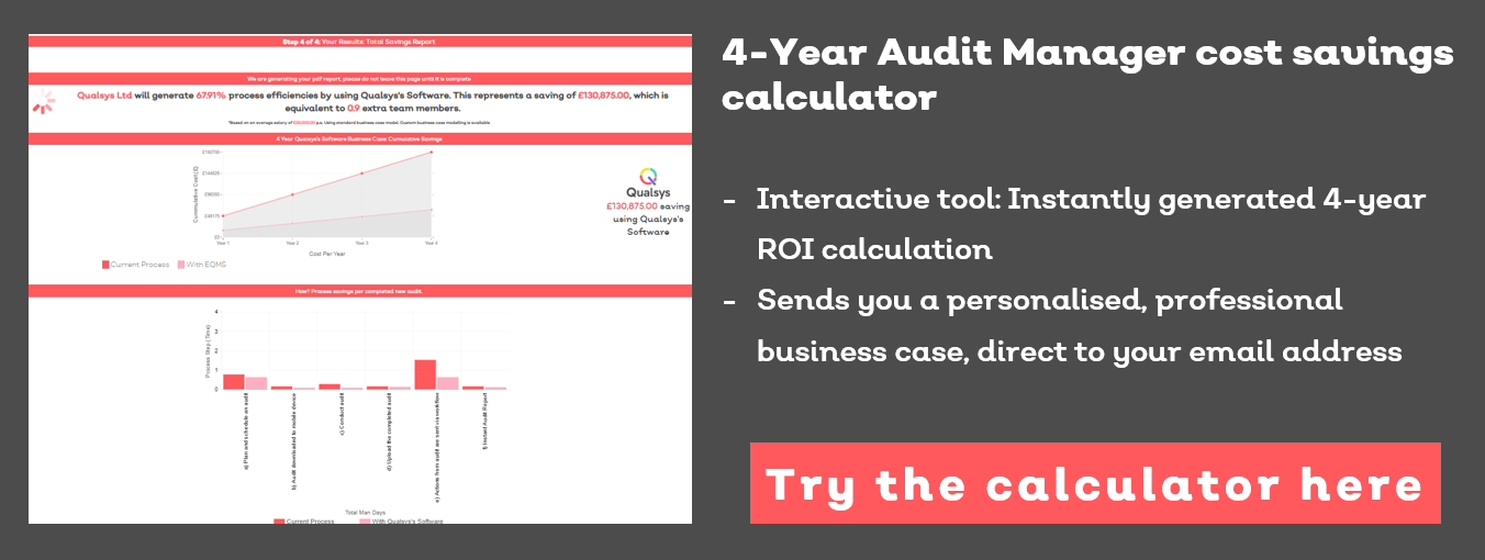 ROI of  Auditing Software