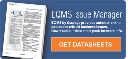 EQMS Issue Manager