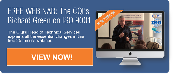 ISO 9001 Changes IRCA Webinar