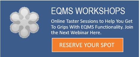 Eqms WORKSHOPS - GRC Solutions