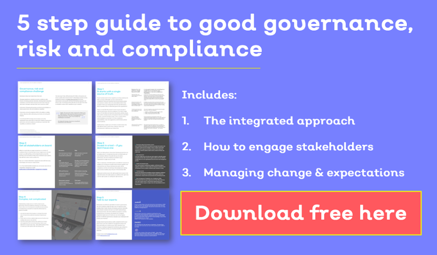 Guide to integrated governance risk compliance