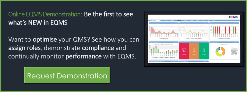 See EQMS in action - free software trial