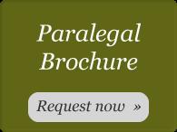 Paralegal Program Brochure Request