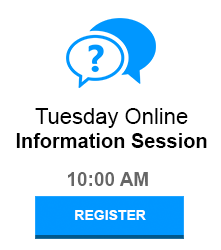 Registered for Tuesday Information Session