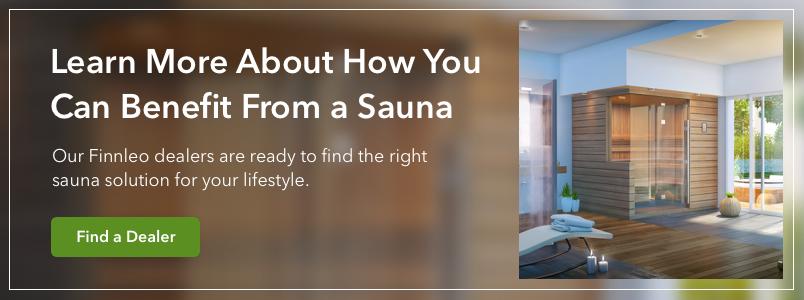 interior sauna room