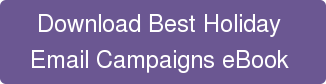 Download Best Holiday  Email Campaigns eBook