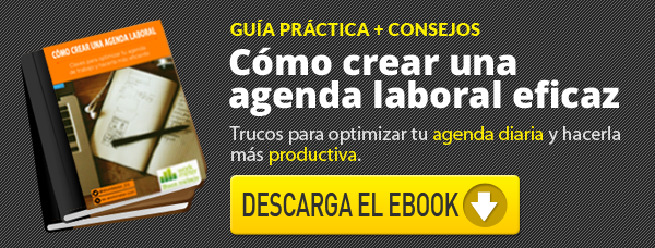 Como hacer una agenda laboral eficiente